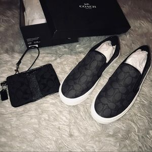 NEW Coach Slip-On Shoes